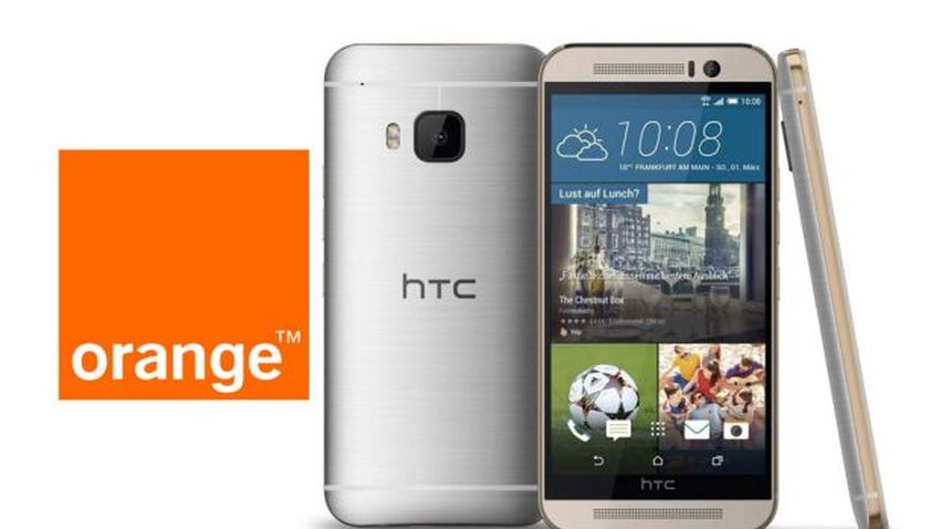 Photo of HTC One M9 w Orange