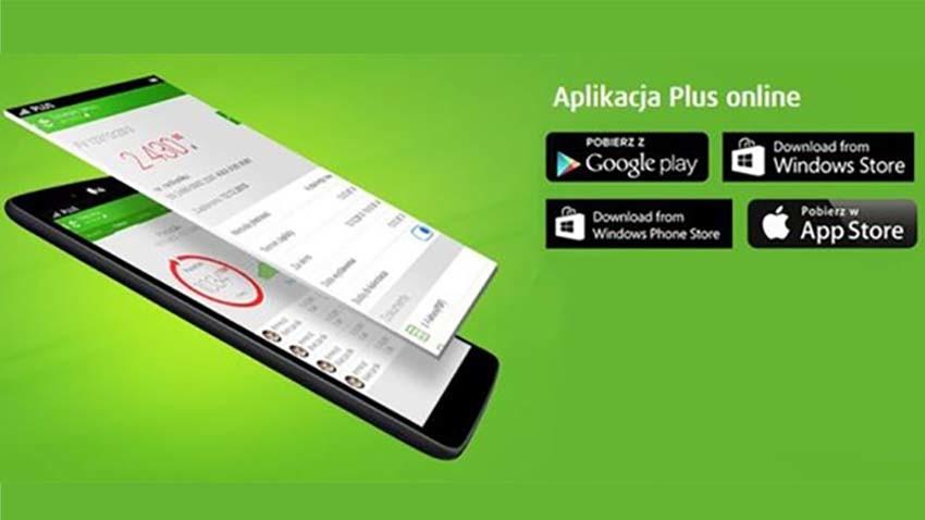 Plus: Mobilna aplikacja online dostępna dla klientów