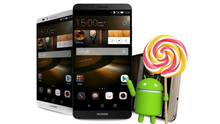 Huawei zacznie aktualizować swoje smartfony do Lollipopa od przyszłego miesiąca