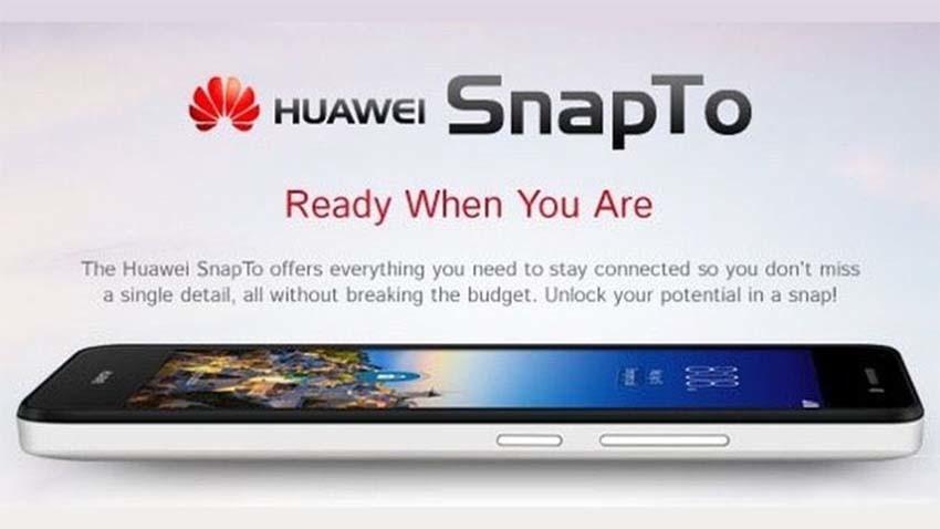 Huawei SnapTo - tani rywal Motoroli Moto G