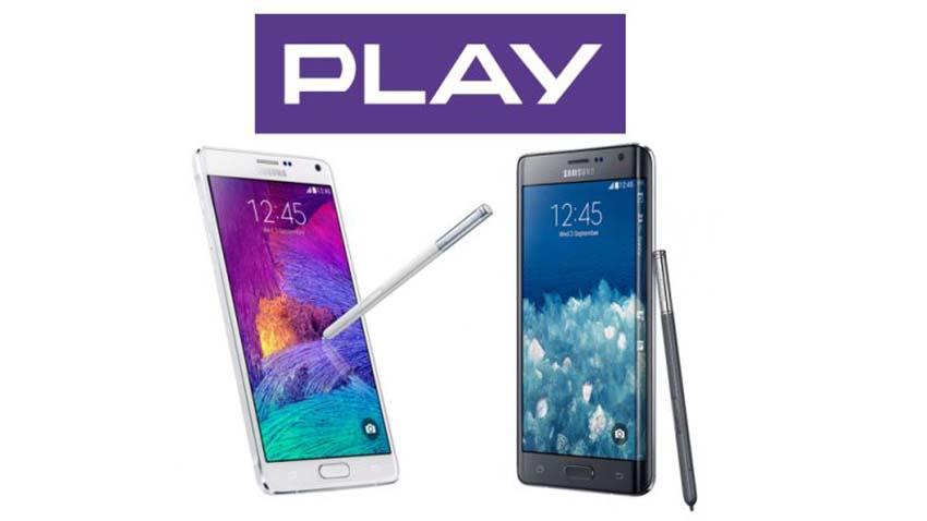 Play obniża ceny Samsunga Galaxy Note 4 i Galaxy Note Edge