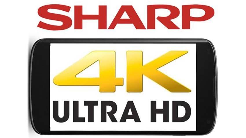 Sharp zapowiada pierwszy wyświetlacz 4K dla smartfonów