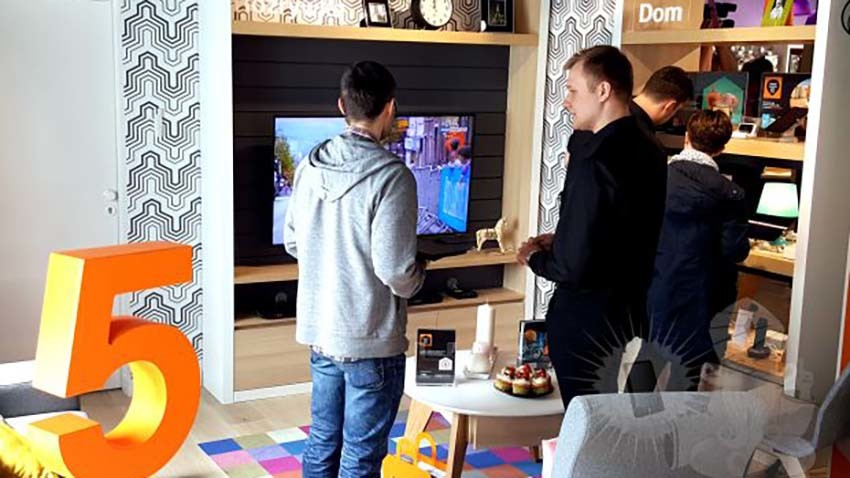 Wielkie otwarcie Orange Smart Store - pierwszego w Polsce interaktywnego salonu przyszłości