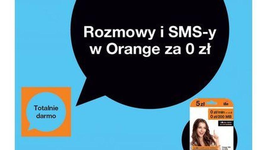 Nielimitowane rozmowy i darmowe SMS-y w Orange Yes
