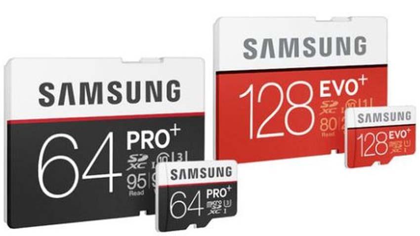 Photo of Samsung prezentuje nowe karty pamięci PRO Plus i EVO Plus