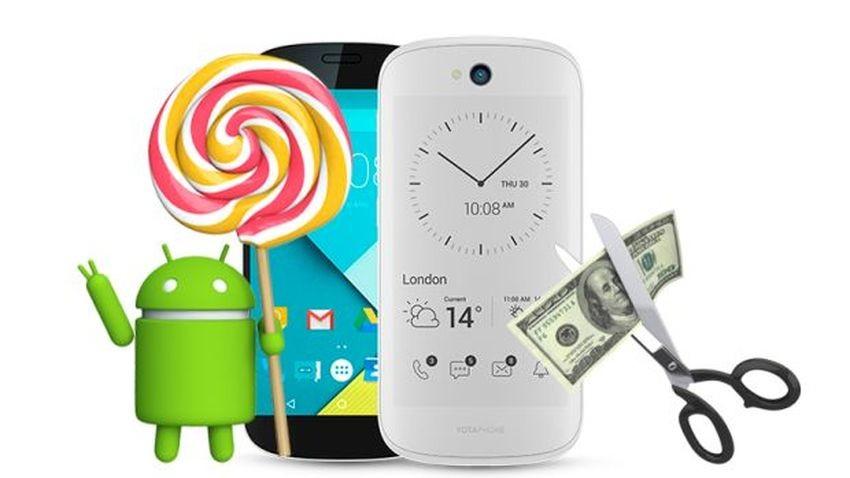 YotaPhone 2 z Androidem Lollipop