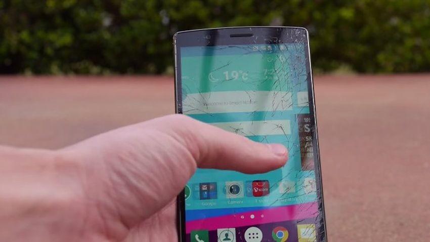 Wytrzymałość LG G4 poddana próbie