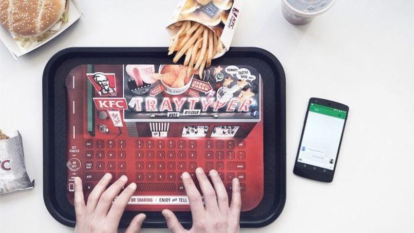KFC Tray Typer uwolni od problemu tłustych palców i pobrudzenia telefonu