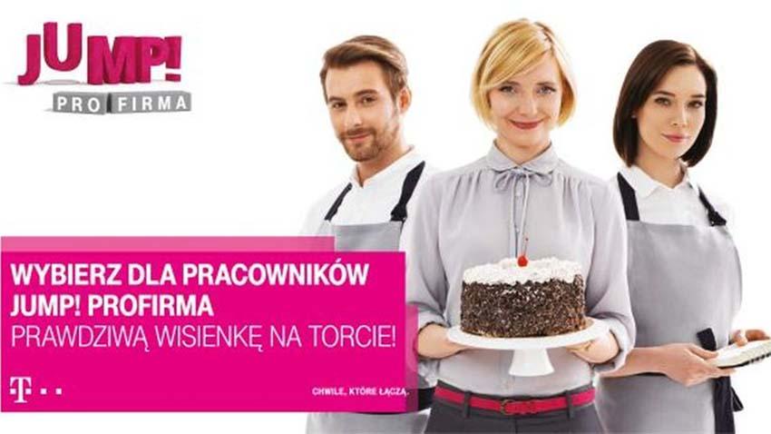 Photo of T-Mobile promuje Jump! proFirma z ofertą dla pracowników