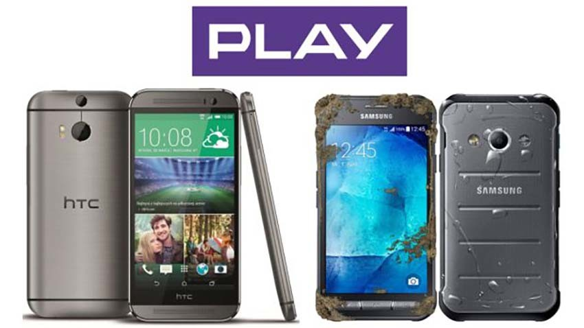 Samsung Galaxy Xcover 3 i HTC One M8s w Play
