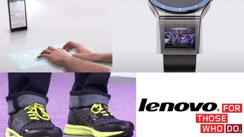 Lenovo przedstawia nowe technologie - smartfon z projektorem