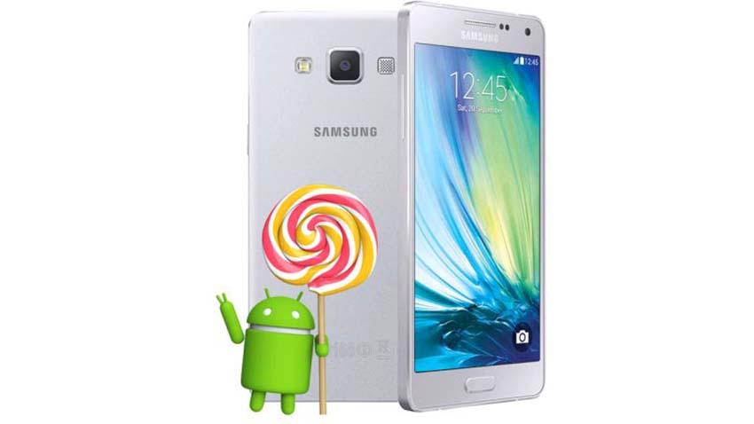 Samsung Galaxy A5 otrzymuje Lollipopa w Polsce