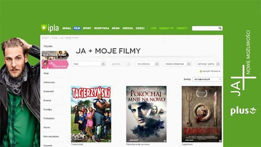 Plus: Darmowe filmy w JA+ Moje Filmy