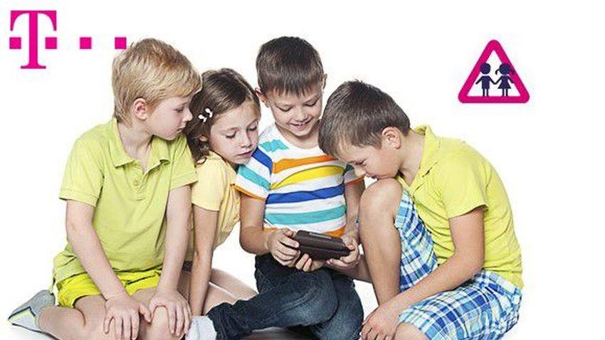 Dzieci w Sieci - nowa usługa T-Mobile