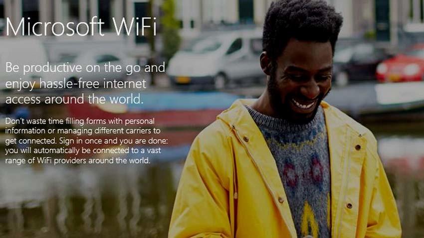 Microsoft Wi-Fi - Internet dla milionów na całym świecie