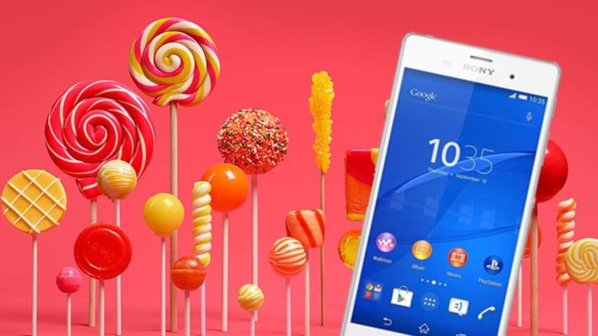 Sony ogłasza listę urządzeń z zapewnioną aktualizacją do Androida 5.1 Lollipop