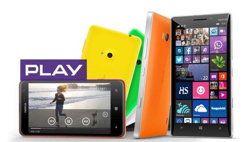 Play: Obniżka cen smartfonów Lumia