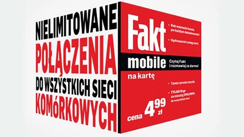 Fakt Mobile - nowy operator wirtualny tuż za rogiem