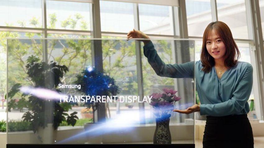 Samsung prezentuje przezroczyste i lustrzane panele OLED