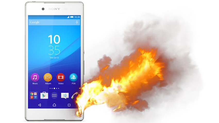 Sony Xperia Z4 się przegrzewa - donoszą japońscy użytkownicy