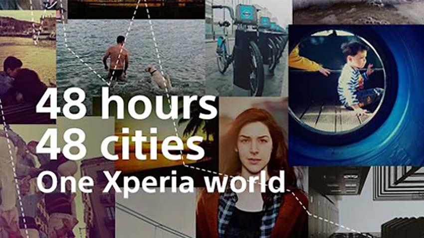 Photo of Sony: 48 godzin, 48 miast, jeden świat Xperia