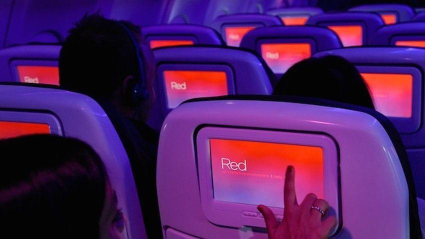 Virgin America startuje z własnym systemem rozrywki pokładowej