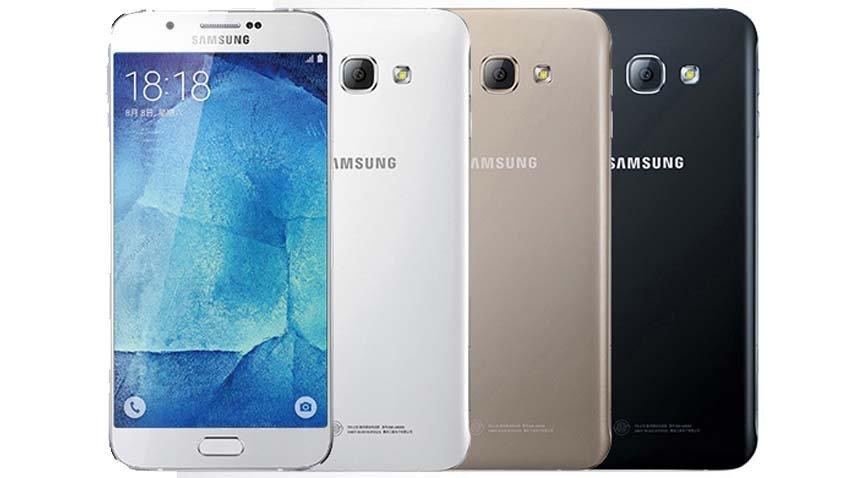 Samsung Galaxy A8 zaprezentowany na nowych zdjęciach