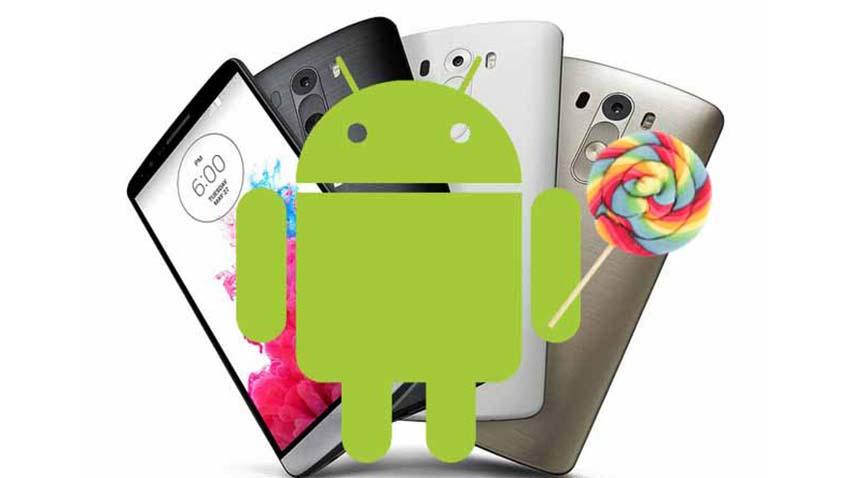 Photo of Android 5.1 Lollipop prawdopodobnie ominie LG G3