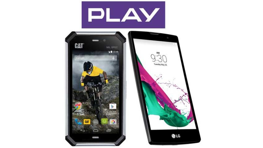 LG G4c i CAT S50 w Play