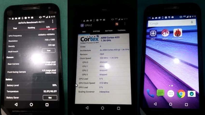 Motorola Moto G (2015) ukazana na pierwszych materiałach