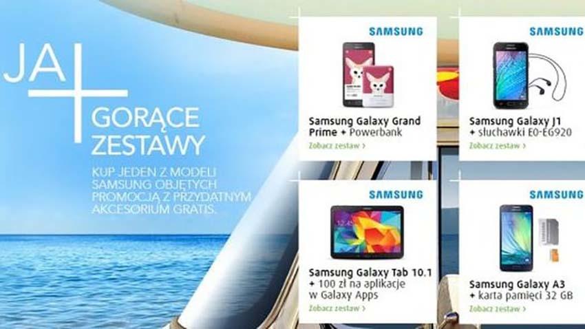 Miesiąc z Samsungiem w sklepie internetowym Plusa
