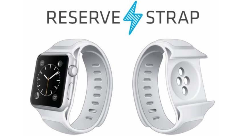 Pasek z powerbankiem zwiększy żywotność baterii Apple Watch