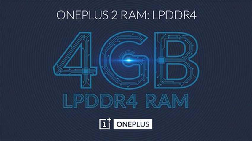 OnePlus 2 z 4 GB pamięci RAM