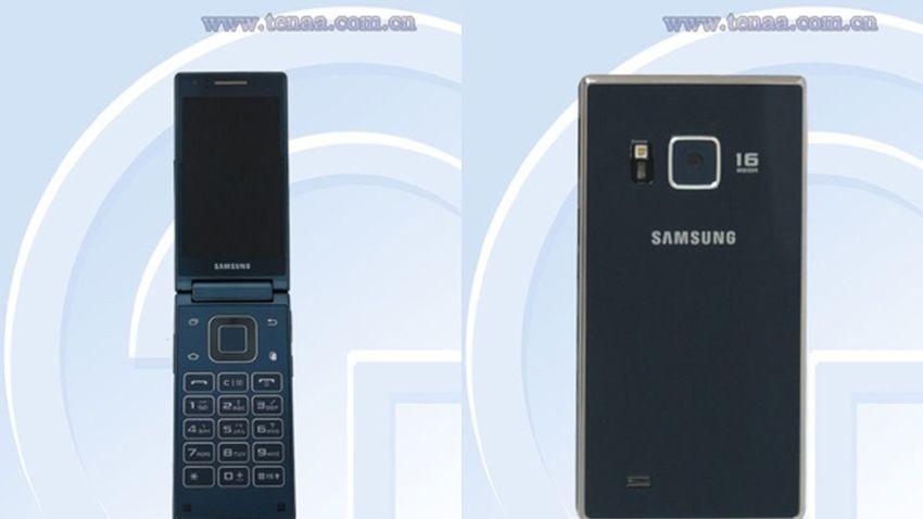 Samsung SM-G9198 - intrygujący telefon z klapką o mocnych podzespołach