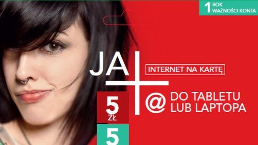Plus: Bezpłatny starter JA+ Internet Na Kartę