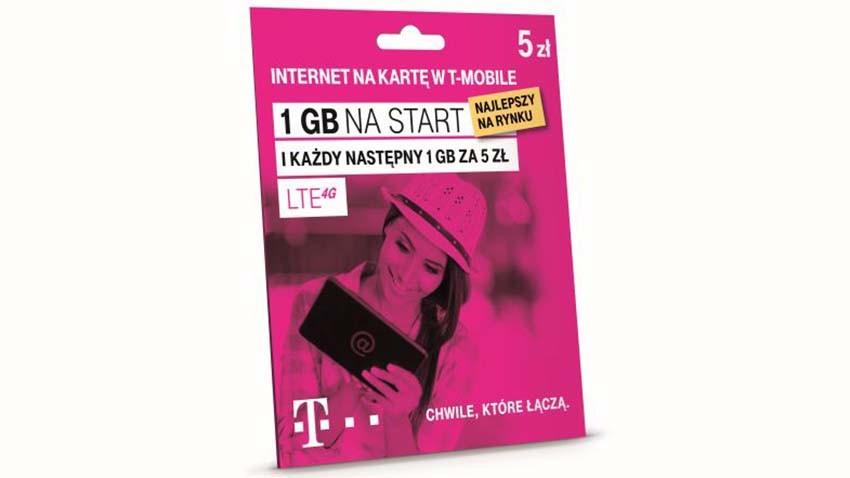 T-Mobile: Nowe startery i pakiety danych w ofercie na kartę