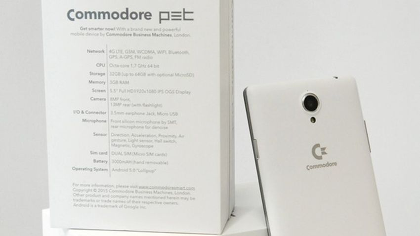 Commodore powraca! Już niedługo premiera smartfona opartego na kultowej marce