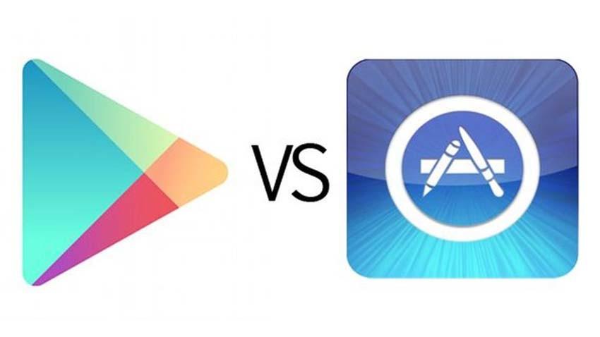 Google Play nadal dominuje w liczbie pobrań. App Store generuje największe przychody