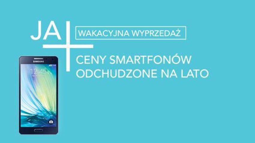 Wakacje w Plusie - wyprzedaż telefonów w sklepie internetowym