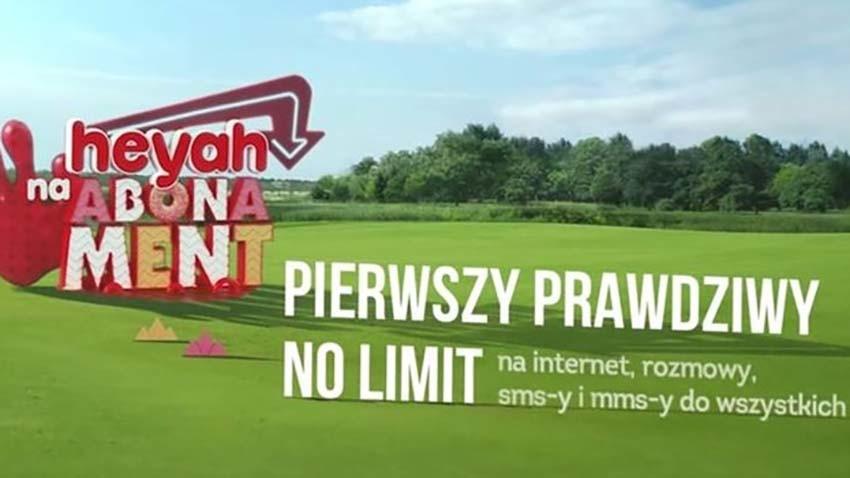 Heyah zdejmuje limity na Internet w abonamencie
