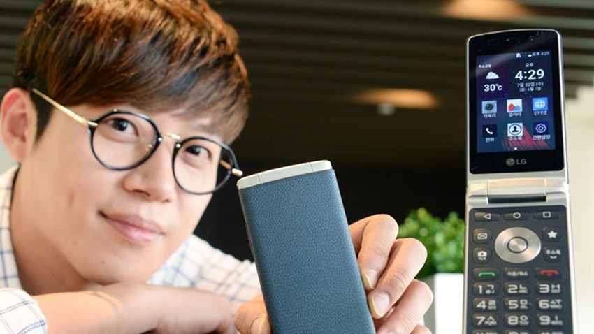 LG Gentle - telefon z klapką i Androidem Lollipop