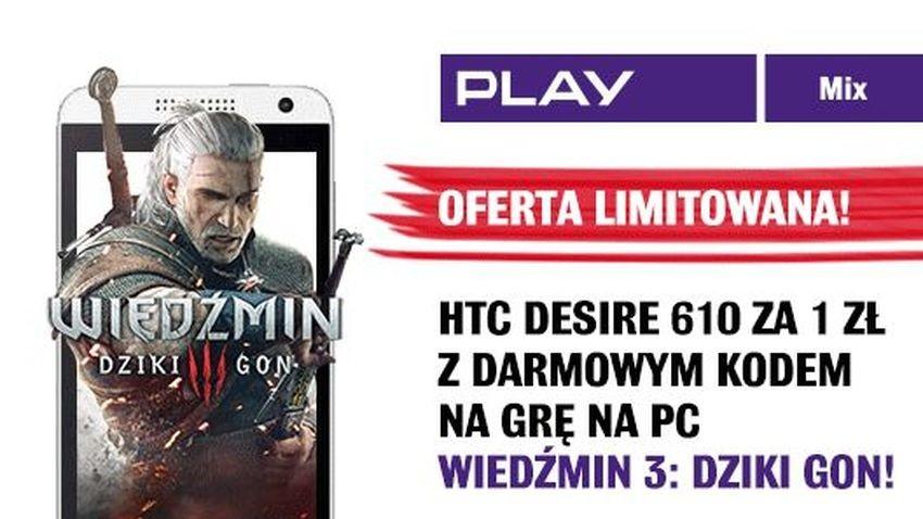 Promocja Play: Wiedźmin 3 za darmo z Formułą Mix