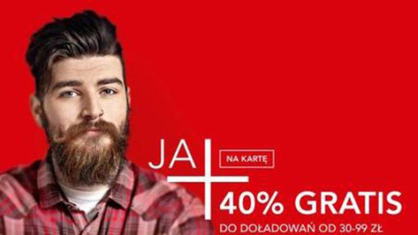 Promocja Plus: 40% więcej za wakacyjne doładowanie internetowe