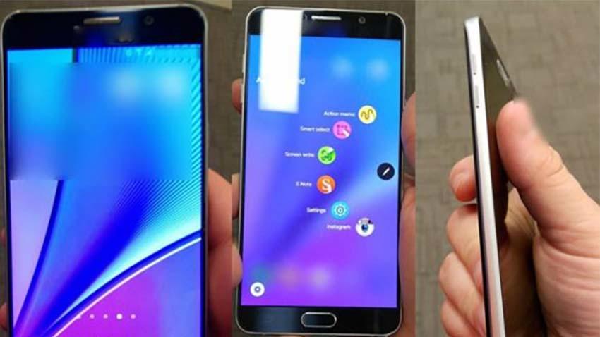 Samsung Galaxy Note 5 i Galaxy S6 Edge Plus bez tajemnic - kolejne zdjęcia i specyfikacja