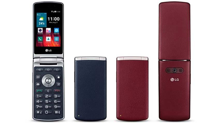 LG Wine Smart - smartfon z klapką trafia do międzynarodowej sprzedaży