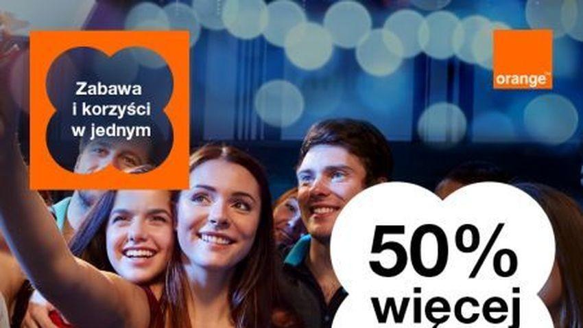 Promocja Orange: Tajemnicze kody i 50% do doładowania