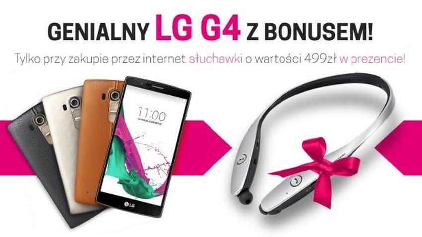 T-Mobile: LG G4 ze słuchawkami LG Tone Infinim w limitowanej ofercie