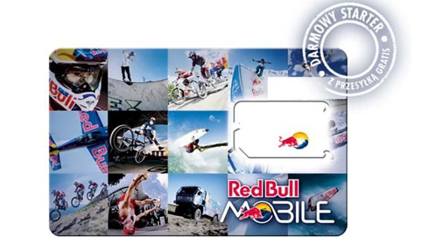Red Bull Mobile: Darmowy starter z 1 GB Internetu