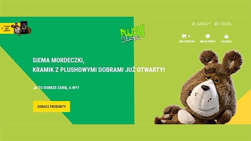 Startuje internetowy sklep z gadżetami od Plusha