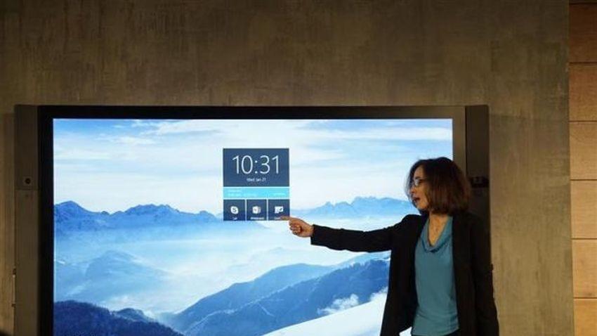Nowy Rok z Microsoft Surface Hub
